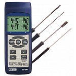 REED 4-CH Thermocouple Thermometer Data Logger Kit  Model # SD-947DELUXE