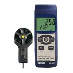 REED Thermo-Anemometer/Datalogger 0.9 to 78.3 mph SD-4207