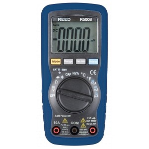 REED R5008 AC/DC Multimeter with Temperature