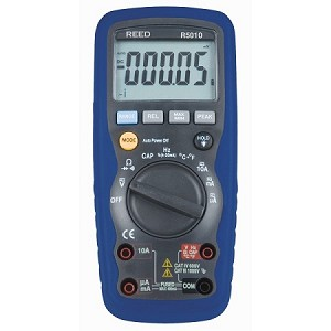 REED R5010 TRMS AC/DC Multimeter with Temperature
