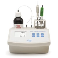 Hanna Titratable Total Acidity Mini Titrator for Wine Analysis  HI84102