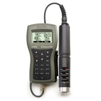 Hanna Multiparameter Meter: PH/ORP/ISE,EC/TDS/Resistivity/Salinity/Seawater, Specific Gravity, Turbidity, DO, Temperature and Atmospheric Pressure with 4m cable  HI9829C4T