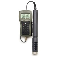 Hanna GPS Multiparameter Meter:  PH/ORP/ISE, EC/TDS/Resistivity/Salinity/Seawater, Specific Gravity, Turbidity, D.O., Temperature and Atmospheric Pressure with autonomous logging and 4m cable HI982906C